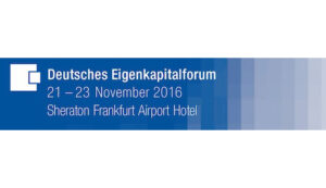 Deutsches Eigenkapitalforum 2016 Banner