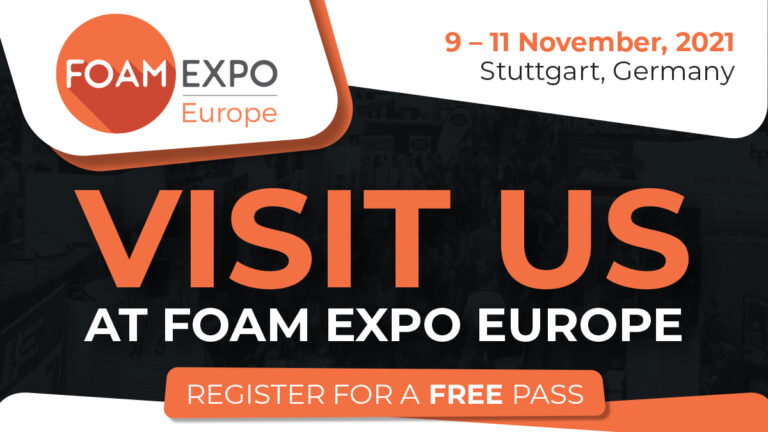 With booth number 235 SUMTEQ GmbH is exhibitor at Foam Expo Europe